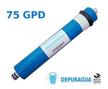 Depuragua Umkehrosmose MOON75 6 Stufen. Manometer Pumpe, Verbrenner, Wasserhahn Lux - 4