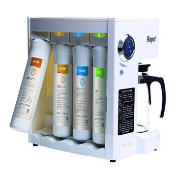 Mobile Umkehrosmoseanlage ohne Festwasseranschluss R.O.POT. Die ideale Lösung für Mietwohnungen, Reisende und kleine Haushalte (Weiß) - 9