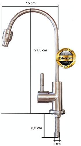 Osmoseanlage 600 GPD Perfect Water No. 1 Ultimate Plus PRO 2019 Direct Flow kein Tank nötig Umkehrosmosewasserfilter Wasserfilter Trinkwasser Umkehrosmose Reverse Osmosis - 6