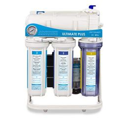 RDL Group Ultimate Plus Superflow | Umkehrosmose Wasserfilter 600 GPD Membrane und Hochleistungspumpe | Kraftpaket ohne Tank | Directflow Osmoseanlage | Bis zu 1600 ml Osmosewasser pro Minute - 1
