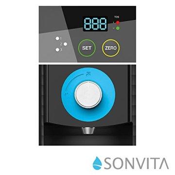 Sonvita PURA UP Auftisch Umkehrosmose Wasserfilter für kalkfreies Trinkwasser Osmoseanlage für schadstofffreies Leitungswasser - 3