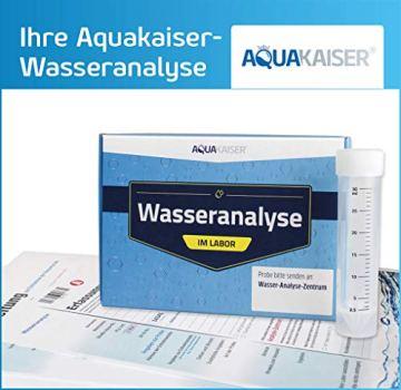 Aquakaiser Wasser Test auf Schwermetalle - Wassertest auf Blei, Kupfer, Eisen und andere metallische Leitungsmaterialien - 2