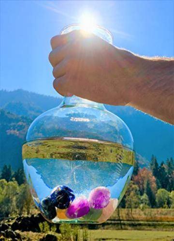 Großes Wasseredelstein-Set | Mischung mit 7 beliebten Sorten | Premium Wassersteine zur Herstellung von Edelsteinwasser | Edelsteine - 5