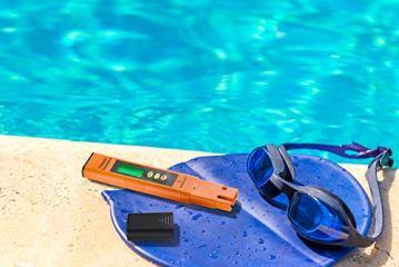 Measury EC Meter Tester TDS Messgerät für Osmoseanlage, Aquarium und Trinkwasser, Leitwertmessgerät mit Thermometer, Leitfähigkeitsmessgerät - 6