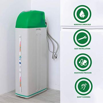 Meter Wasserenthärter AS800 von Water2Buy   Hartwasseraufbereitungssystem   Ultra-leises automatisches Gerät zur 100% igen Beseitigung von Kalkablagerungen   Entwickelt für alle Salzarten - 4