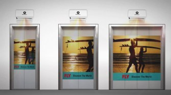 Advertisements through elevators are boon to society