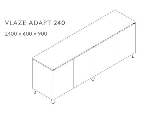 Adapt 240 Dimensions