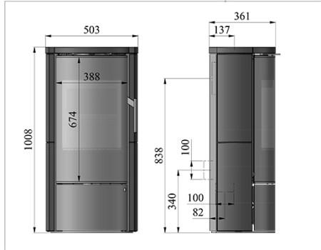 morso 4155 dimensions