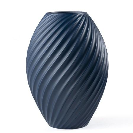 Morso River Vase Blue - Large