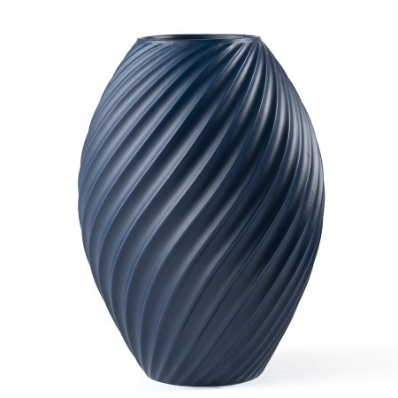 Morso River Vase Blue - Large