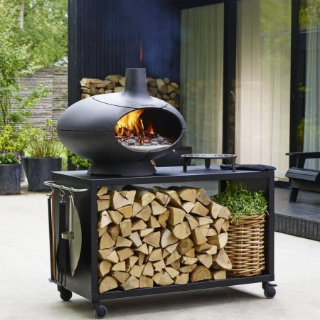 Photo of the Morso Forno Garden Deluxe Package
