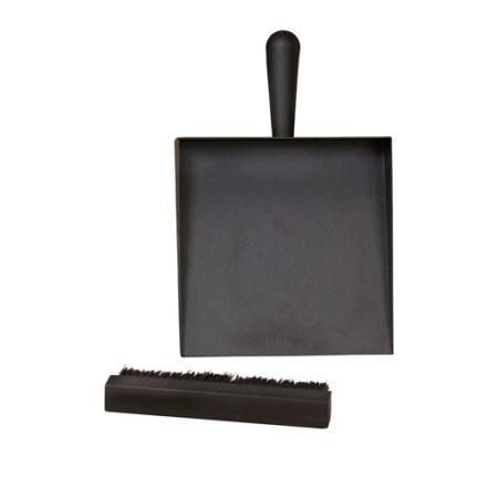 morso dustpan and brush for woodburning stove