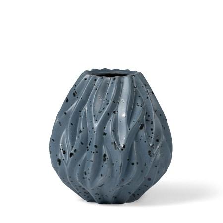 Morso Flame Vase Blue Medium