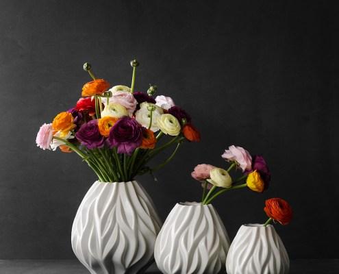morso flame vase white