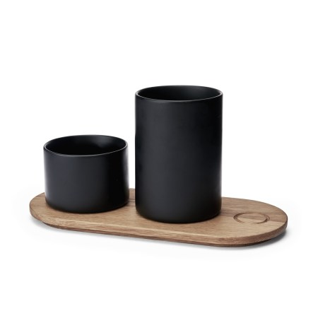 Morso Kit Wooden Tray & Jars