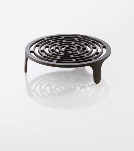 Photo of tuscan grill solid grate made of cast iron for outdoor oven