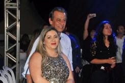 O belíssimo casal, o prefeito de Mucuri, Dr José Carlos Simões e sua esposa, a primeira-dama Cleudi Simões no Aviva Mucuri;