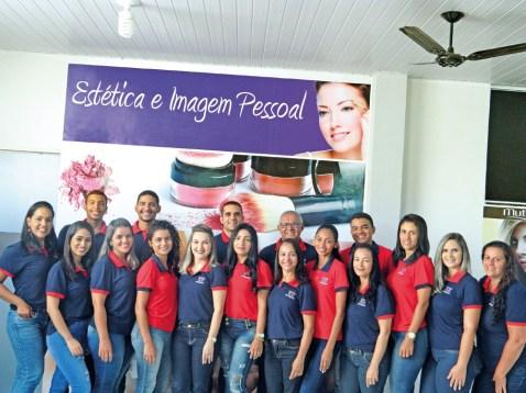 Equipe da Unopar Teixeira de Freitas