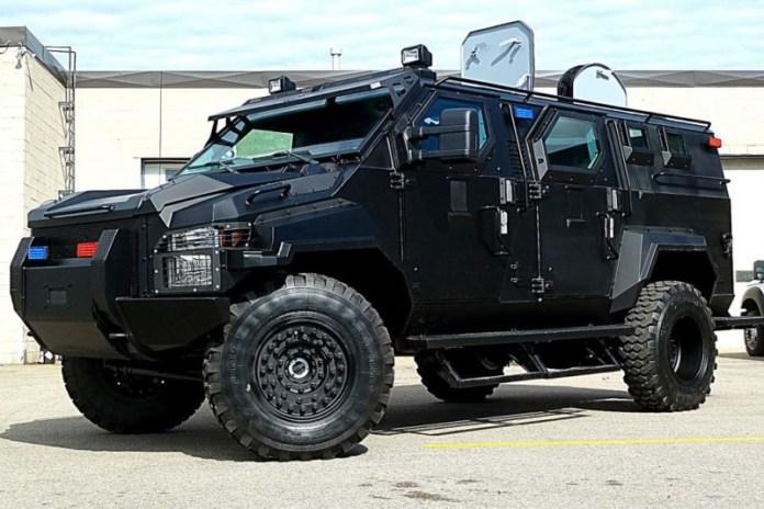 PRF contará com veículos blindados especiais 2