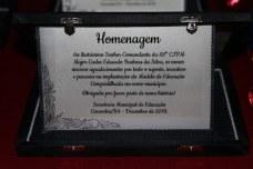 Homenagem do Colégio Francisco Henrique ao Comandante da 88ª CIPM