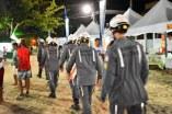 Corpo de Bombeiros no apoio no Carnabarra 2020