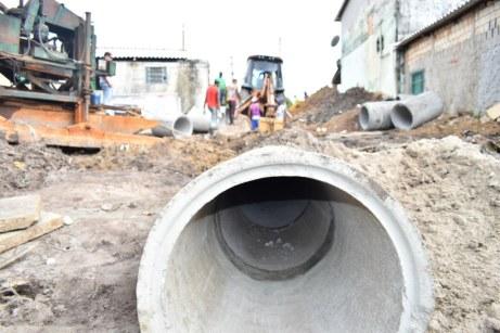 Obras do sistema de drenagem da Barra de Caravelas (6)