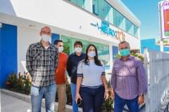 prefeita claudia participa de reuniao virtual com governador (3)