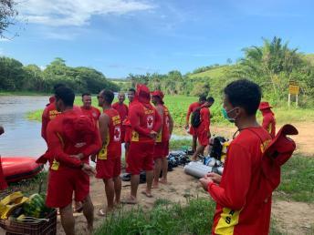 18 GBM Teixeira de Freitas treinamento combate a incendio atividades de mergulho autonomo resgate extremo sul da bahia (11)