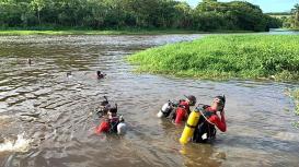 18 GBM Teixeira de Freitas treinamento combate a incendio atividades de mergulho autonomo resgate extremo sul da bahia (9)