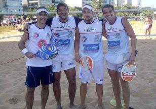Luis Pedreira, Bruno Marinho, Vinicius Chaparro e Daniel Nascimento