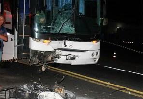 Acidente mata motociclista em rodovia no trecho da cidade de Poções (Foto: Site Poções 24h)