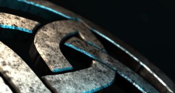 Trinity Symbol Closeup