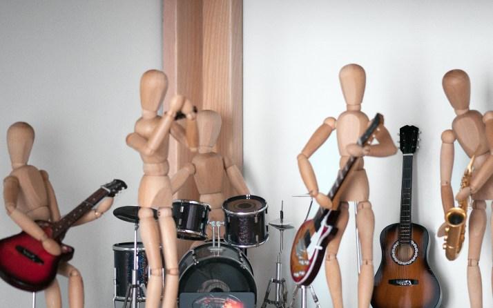 orchestre de bois