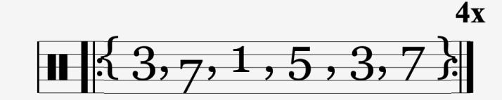 Arpèges depl octave # 1