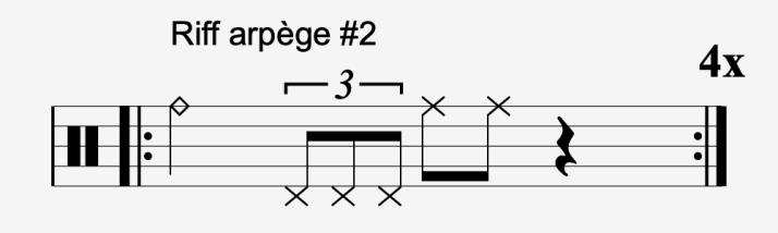 riff arpège #2