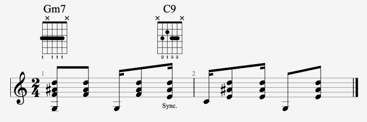 rythmique bossa #1