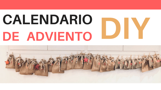Calendario de adviento DIY