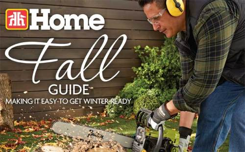 Fall Guide at Osoyoos Home Building Centre.