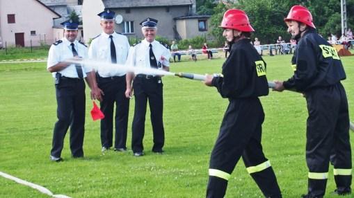 Zawody Sportowo - Pożarnicze w Łanach