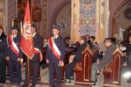 Msza za zmarłych Strażaków (10.2011)