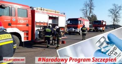 Strażacy OSP uwzględnieni w pierwszej kolejności do szczepień przeciwko COVID-19
