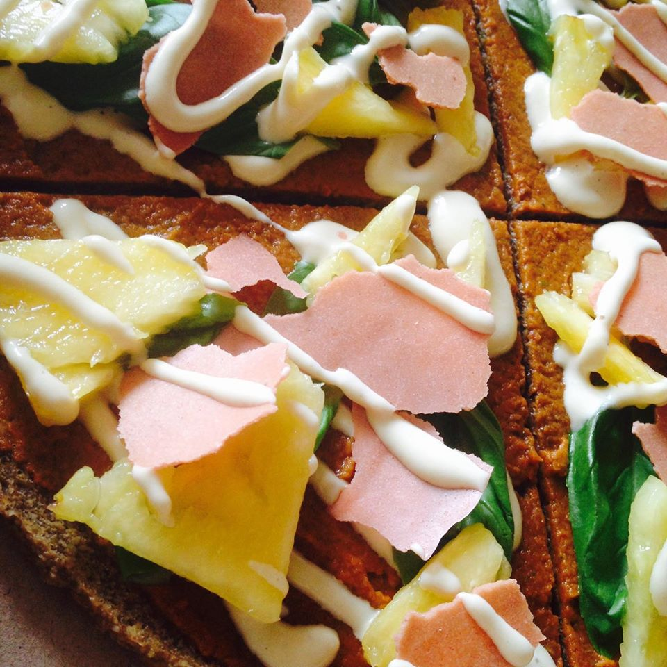 Raw Plant Based Pizza Delivery