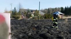 Pożar Trawy Dąbrówka 23.03