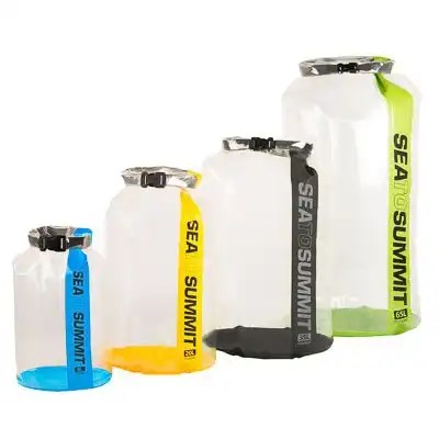 CLEAR Stopper Dry Bags 1
