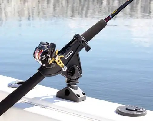 Bait Caster/Spinning Rod  Hold 2