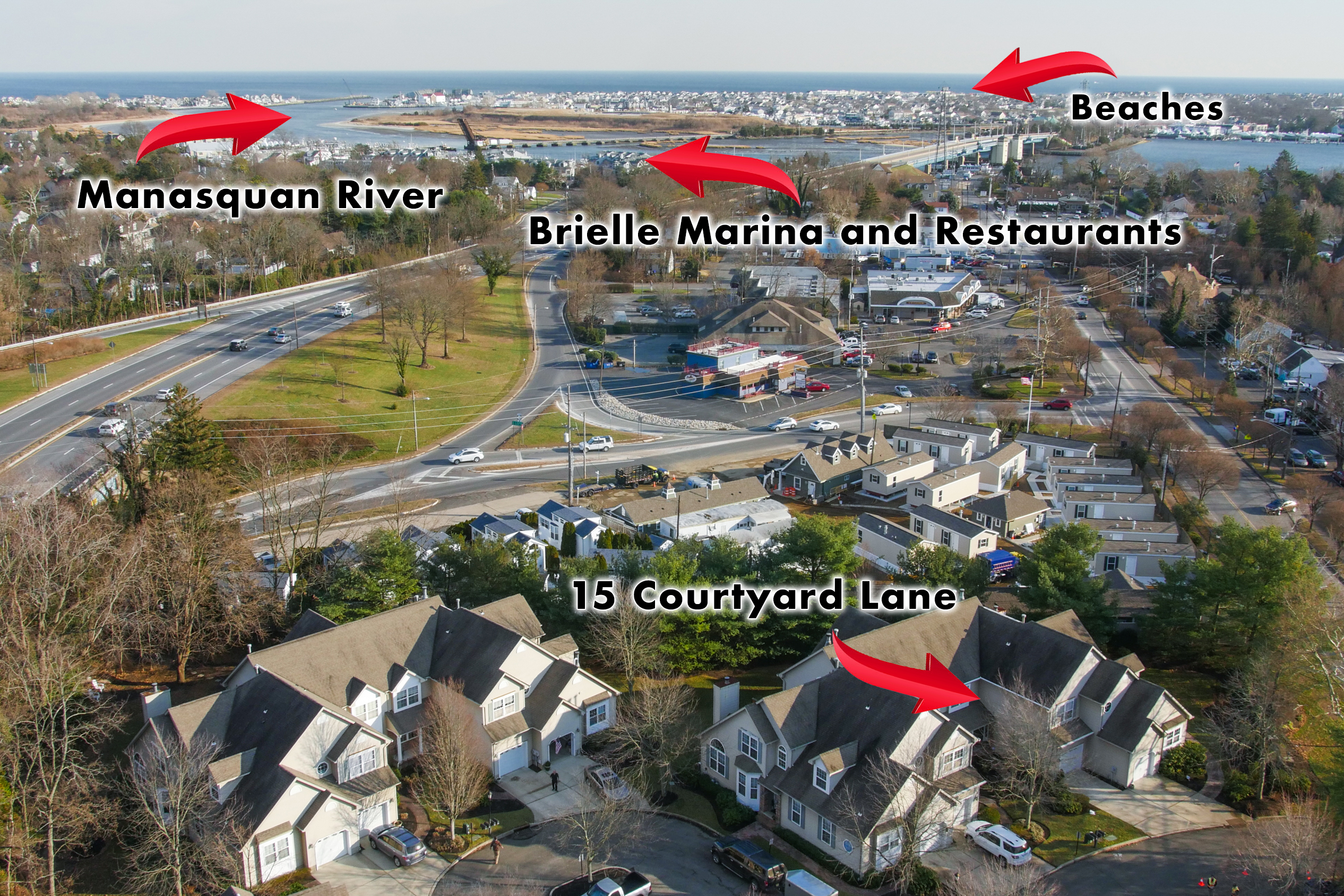 Brielle Aerial Photography NJ