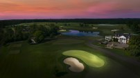 Golf Course Photography by Osprey Perspectives. This shot is of Trump National Bedminster Golf Club.