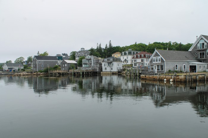 stonington maine view from town taken by sarah steinharter