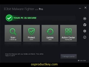 IObit Malware Fighter Pro 8.2.0 Crack With License Key (2020)