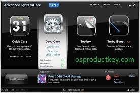 Advanced SystemCare Pro 13.0 Crack with Key (2020) Latest